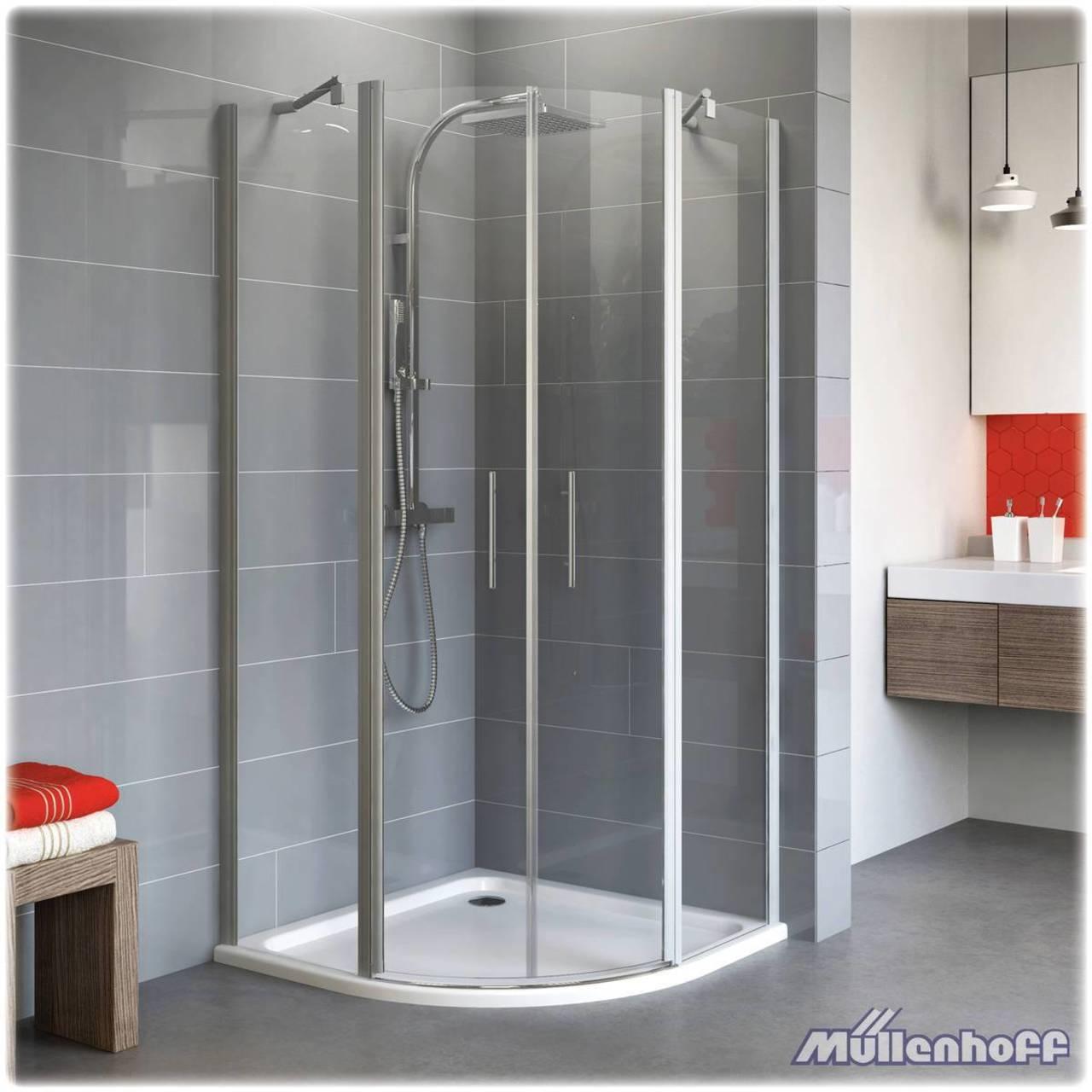 schulte alexa style 2 0 runddusche 900 900 mm radius 500. Black Bedroom Furniture Sets. Home Design Ideas