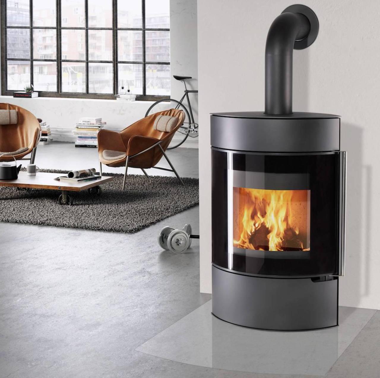 thermia kaminofen elipso xl stahl 8 kw vollglast r. Black Bedroom Furniture Sets. Home Design Ideas