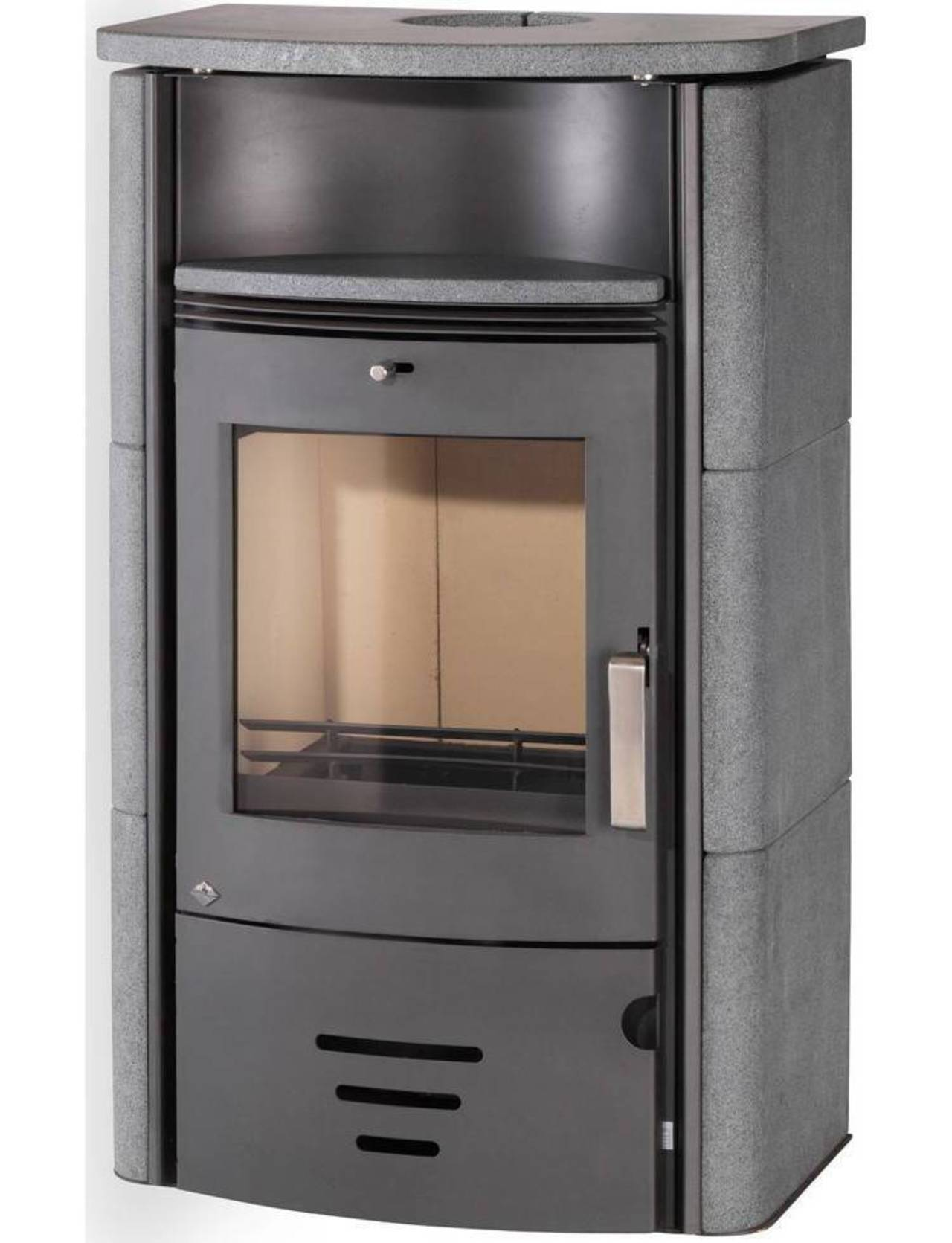 techfire kaminofen turin naturstein 7 kw dauerbrand max 180 m 4250372180596 ebay. Black Bedroom Furniture Sets. Home Design Ideas