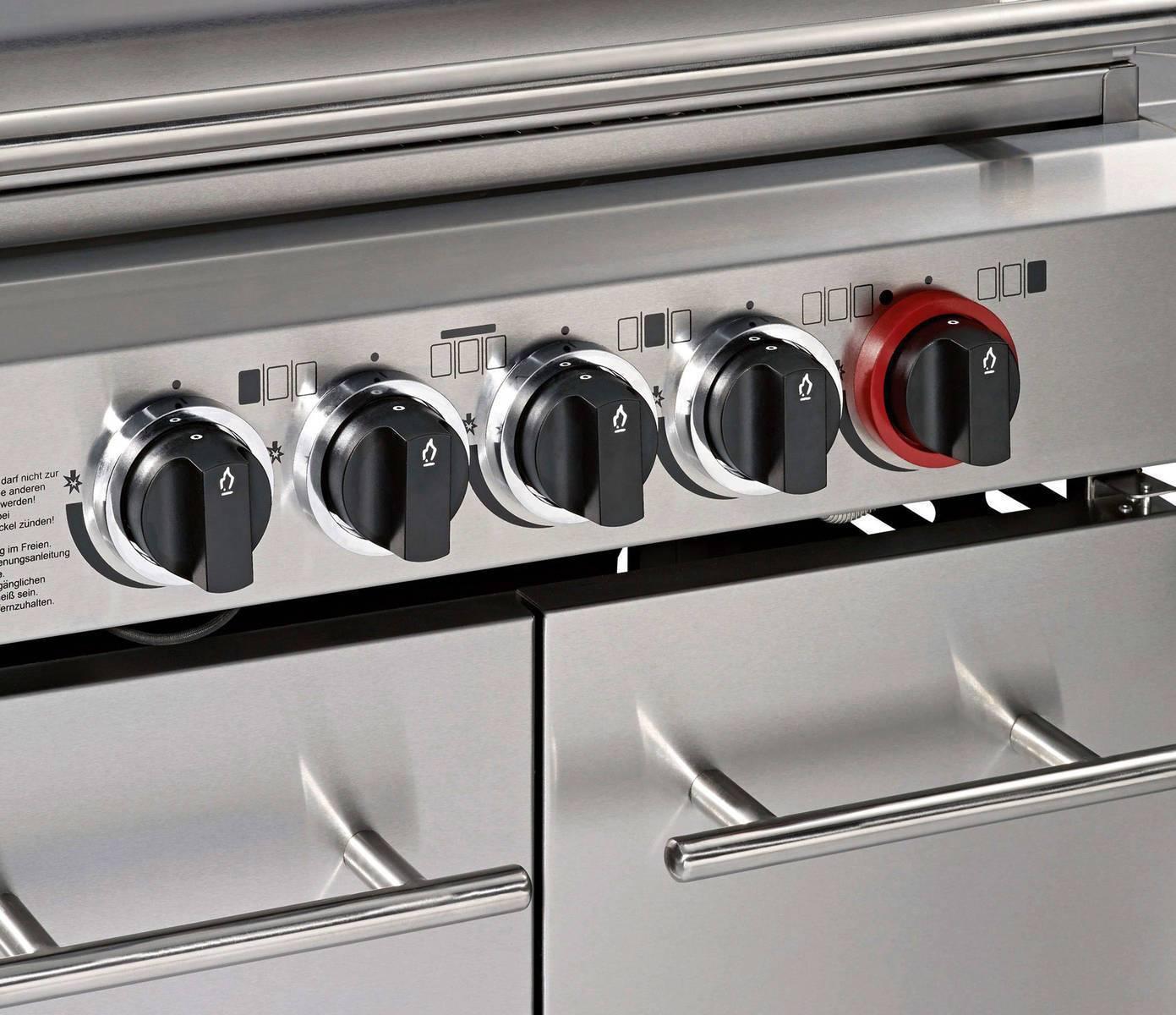 enders kansas 3 pro sik turbo gasgrill 3 brenner seitenkocher heckbrenner ebay. Black Bedroom Furniture Sets. Home Design Ideas