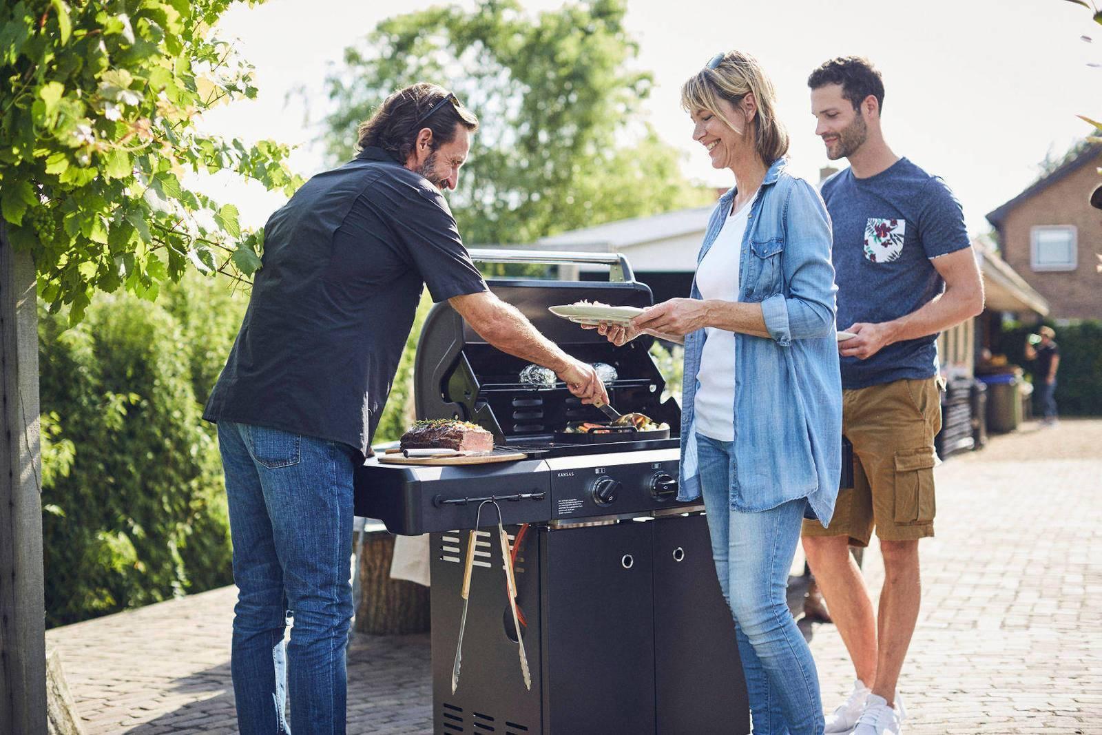 Enders Gasgrill Kansas 3 : Enders grills online kaufen otto