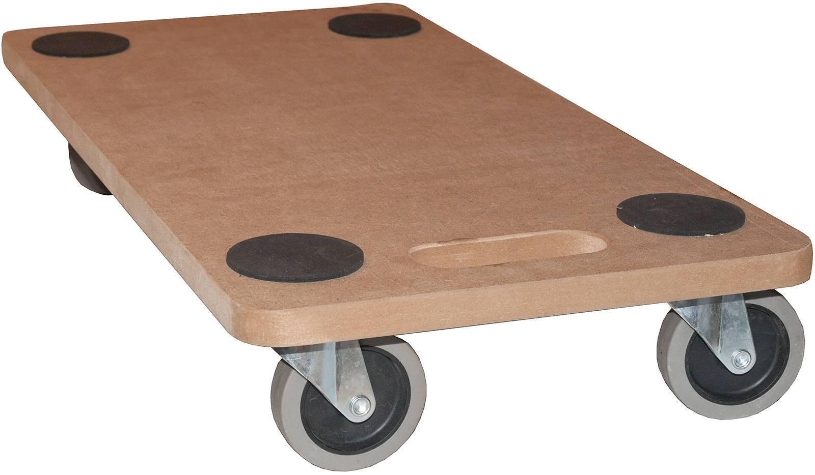mobelroller rollbrett transportroller mdf 250 kg hund mobel roller mit softrolle