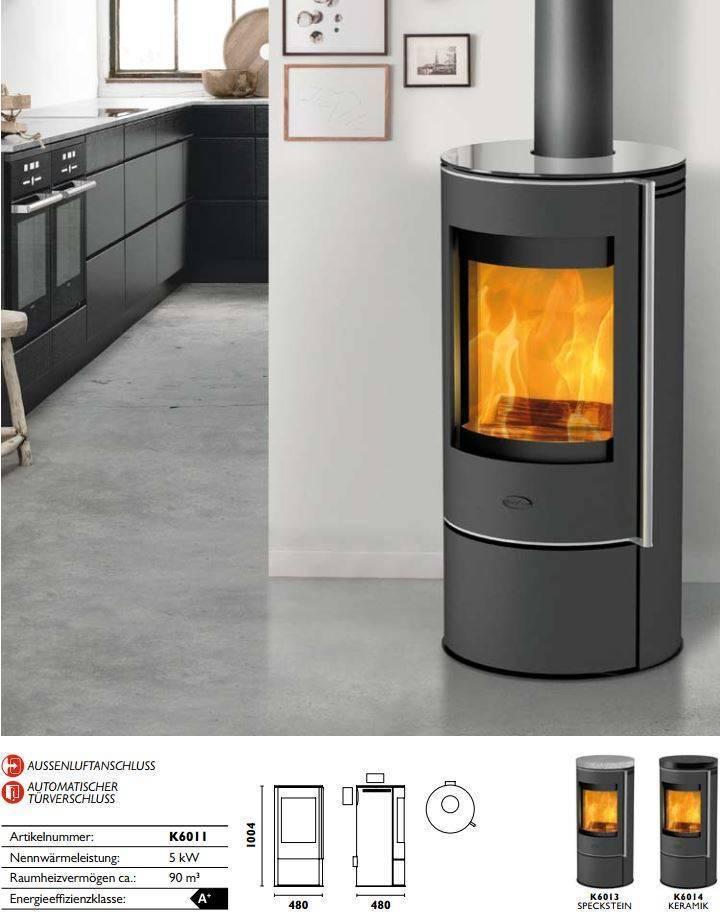 fireplace kaminofen rondale glas 5 kw ext luftzufuhr kamin ofen holz ebay. Black Bedroom Furniture Sets. Home Design Ideas